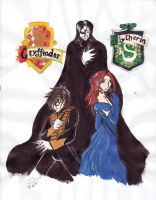 PotO - HP cross by silverfangcracker