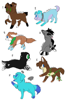 adoptables-2 by halo55014