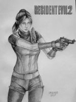 Claire Redfield by irenei