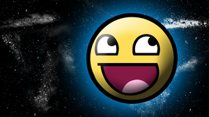 Awesomeface in space by kp10708