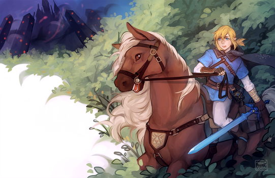 breath of the wild by Sangcoon