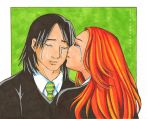 :Lily+Snape: Farewell by TheYumeNoInu
