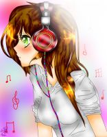 Music is my heart (Ariel) by fior3ll4