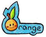 An Orange by Ryosagale