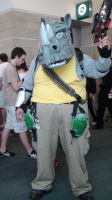 Rocksteady from Teenage Mutant Ninja Turtles by trivto
