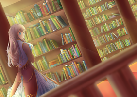Library by Ritzueli