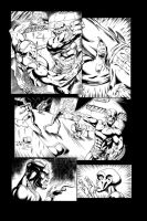 Blackstone Comic Page 14 Inked by RAM by ramstudios1