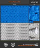 Textile Pattern 6.0 by Sed-rah-Stock