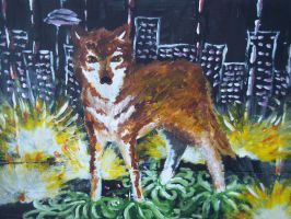wolf in the big city by keyso-and-the-fringe