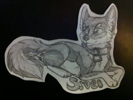 free experimental badge for sivel by nightspiritwing