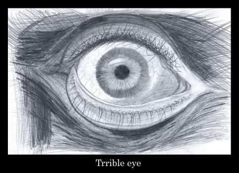trrible eye by Sideover