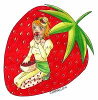 Strawberry maniac by Chamchan