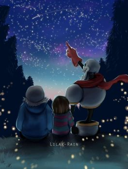 The stars for you by Lilak-rain