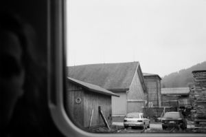 Film - XIV - out of a moving train by Picture-Bandit