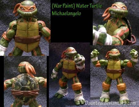 TMNT (War Paint) Michelangelo by daunted