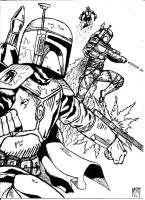Boba Fett - supercommandos by UGCcomics