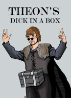 Theon's Dick in a Box by HeroforPain