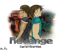 CaptainSparklez Revenge Fan Art by zeezeeazc123