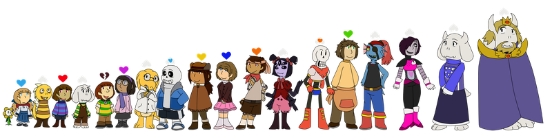 [Undertale] some height update by poi-rozen