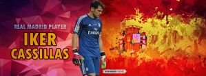 My New Facebook Cover To Casillas by nourdesigner