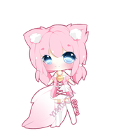Adoptable fox chibi- 300 points- (CLOSED) by Miyee