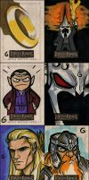 S'more LOTR Sketch Cards by grantgoboom