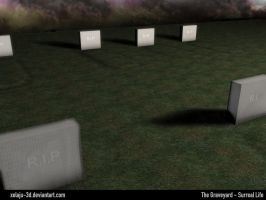 The Graveyard - Surreal Life by xelaju-3D