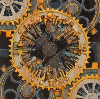 quantacity nine [clock] by andyvanoverberghe