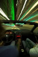driving in downtown dallas two by MichaelHawkins