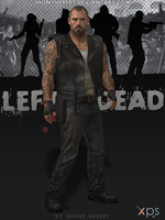 Francis - Left 4 Dead by JhonyHebert