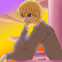 Tamaki in the Sunset by TorresAdlinCDL91