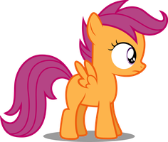 Vector #57 - Scootaloo #3 by DashieSparkle
