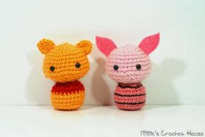 Pooh and Piglet Chibis by milliemouse579