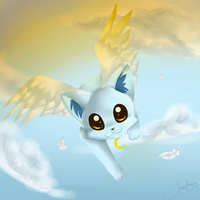 .:Angel Kitten:. by SnowyCakes