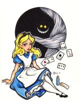 First Prize - Alice In Wonderland by BlueUndine