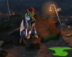 Romantic wasteland by Twotail813