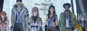 FFXIII Heroes by rose1371999