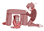 Pillow Fort by Lunasumerin