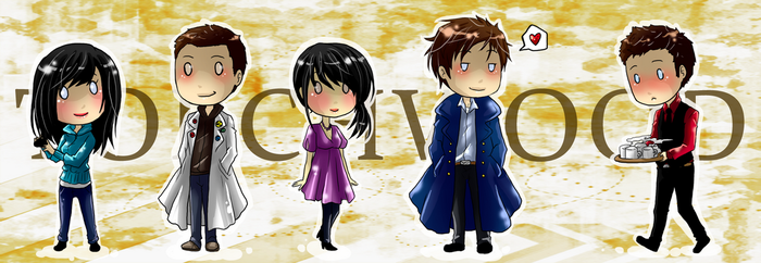 Torchwood chibis by MMtheMayo