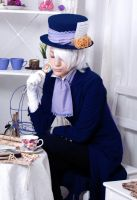 Xerxes Break cosplay by kammael