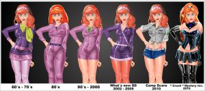 Daphne Through The Years by mysteryincfan2