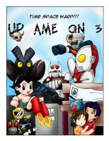 UP AME Anniv Folio Cover by kuro-inu