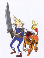 FF7 Time! by characterundefined