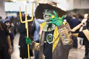 DC - Sinestro Corps Scarecrow cosplay by Blackconvoy
