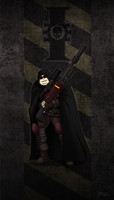 Dark Heresy: Grim the Sniper by Blazbaros