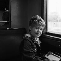 Riding on a train II by vw1956