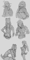 Fire Emblem Doodles by Chopstuff