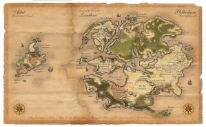 Palladium Fantasy Worldmap by Dawn2069MS