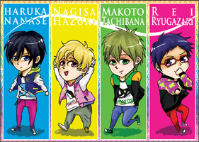 Free!: SMASH 2013 bookmarks by fengsong