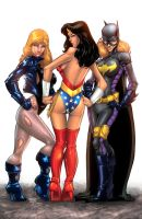 DC Girls by KUMIKER